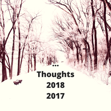 Thoughts 2017-2018